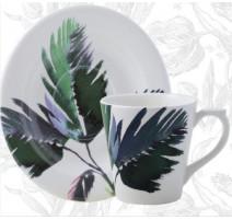 Coffret de 2 tasses à thé Jardins Extraordinaires, Gien