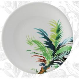 Coffret 4 assiettes plates Jardins Extraordinaires, Gien