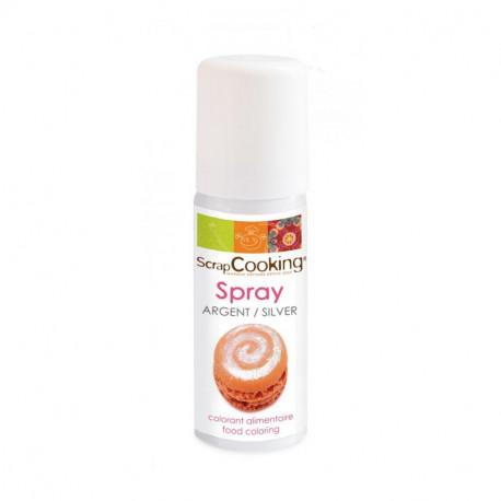 Spray argent 50ml, ScrapCooking