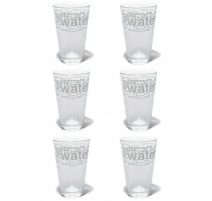 Coffret 6 Chopes Acqua, Cerve