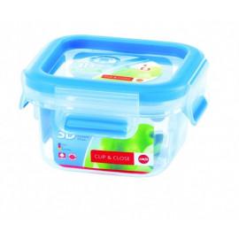 Boîte alimentaire carrée 0,25 L Clip & Close