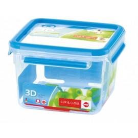 Boîte alimentaire carrée 0,85 l Clip & Close