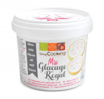 Pot de glaçage royal blanc, ScrapCooking