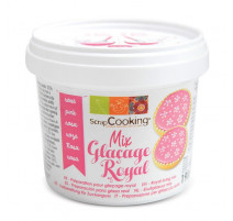 Pot de glaçage royal rose, ScrapCooking