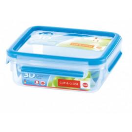 Boîte alimentaire rectangulaire 0,55 L Clip & Close