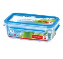 Boîte alimentaire rectangulaire 1l Clip & Close
