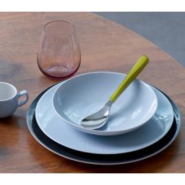 Service vaisselle Modulo celadon, Guy Degrenne