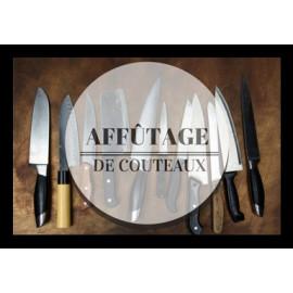 Service affûtage de couteaux