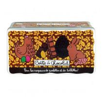 Boîte à chocolat pour les croqueurs, Derrière la Porte