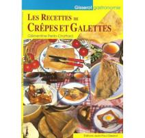 Livre de recettes crêpes et galettes