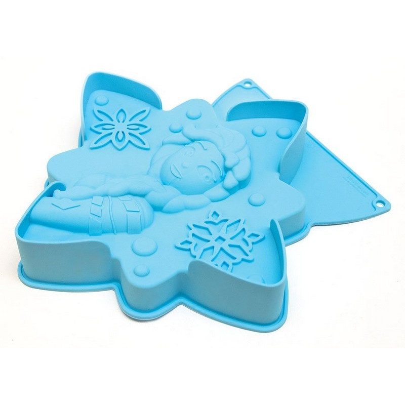 acheter moule en silicone pour g teau reine des neiges de scrapcooking. Black Bedroom Furniture Sets. Home Design Ideas