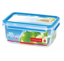 Boîte alimentaire rectangulaire 2,3l Clip & Close