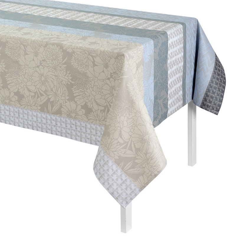 achat vente nappe enduite brooklyn m tal le jacquard. Black Bedroom Furniture Sets. Home Design Ideas