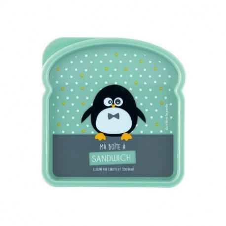 Boîte à sandwich Pingouin garçon, Derrière La Porte