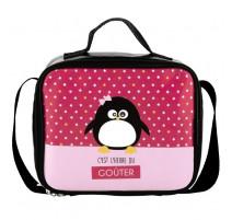 Sac à goûter Pingouin fille, Derrière La Porte