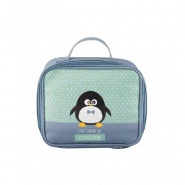Sac à goûter Pingouin garçon, Derrière La Porte