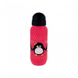 Gourde Pingouin fille, Derrière la porte