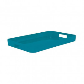 Plateau rectangulaire M Gallery turquoise, Zak Designs