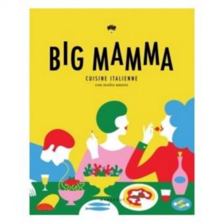 Livre Big Mamma cuisine italienne con molto amore, Hachette, Marabout