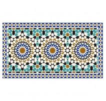 Tapis Alhambra, Mosaiko