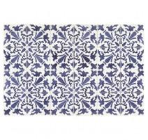Tapis Carmen bleu, Mosaiko