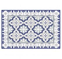 Tapis Flocon bleu, Mosaiko
