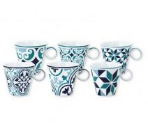 Coffret de 6 tasses à café Tiago, Bruno Evrard