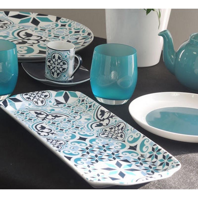achat vente plat cake porcelaine plat d cor plat color vaisselle porcelaine. Black Bedroom Furniture Sets. Home Design Ideas