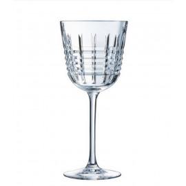 """Coffret 6 verres à eau """" Rendez-Vous """", Cristal d'Arques"""