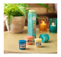 Coffret Havana 4 Votives, Yankee Candle