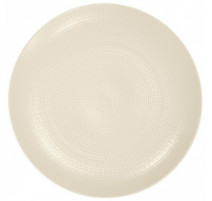 Assiette plate Guy Degrenne modulo nature kaolin