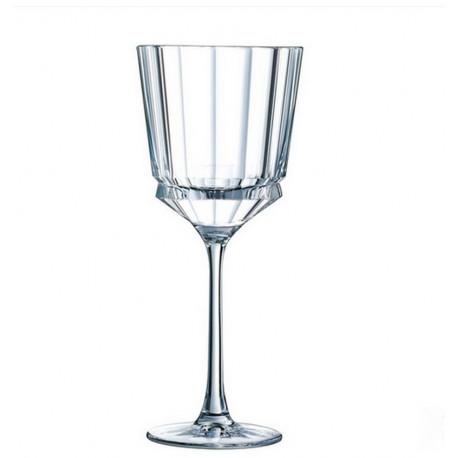 acheter coffret de 6 verres vin macassar de cristal d 39 arques. Black Bedroom Furniture Sets. Home Design Ideas