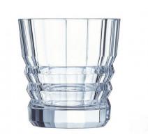 """Coffret 6 verres à whisky """" Architecte """", Cristal d'Arques"""