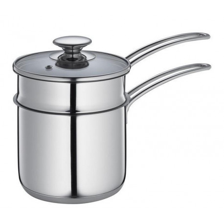 Acheter casserole bain marie haute en inox de kuchenprofi - Casserole a bain marie ...