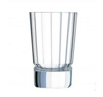 Coffret de 6 verres à whisky Macassar, Cristal d'Arques