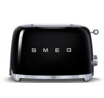 Toaster 2 tranches Années 50 Noir, SMEG