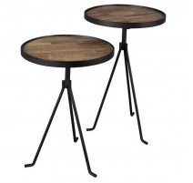"Set de 2 tables "" Tides "", Zuiver"