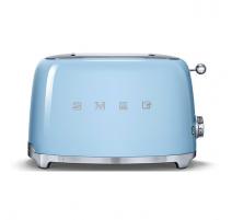 Toaster 2 tranches Années 50 Bleu, SMEG