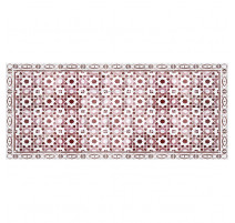 Tapis Arabesque rouge, Mosaiko