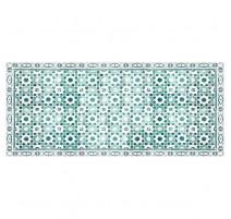 Tapis Arabesque turquoise, Mosaiko
