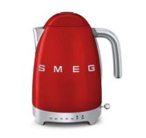 Bouilloire avec réglage température, années 50 Rouge, SMEG