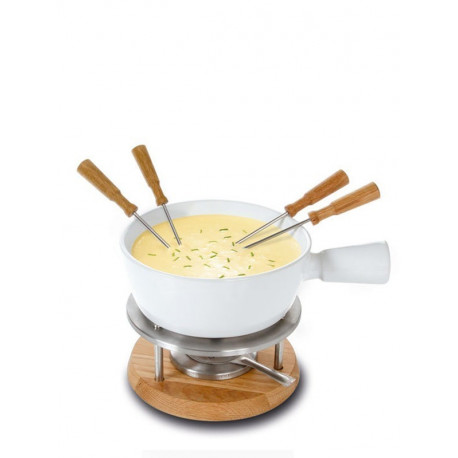 Set service à fondue Bianco, Boska