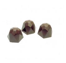 Moule à chocolat 40 diamants à facettes, Matfer