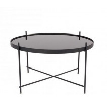 Table basse ronde Cupid noir, Zuiver