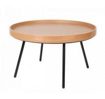 Table basse chêne avec plateau, Zuiver