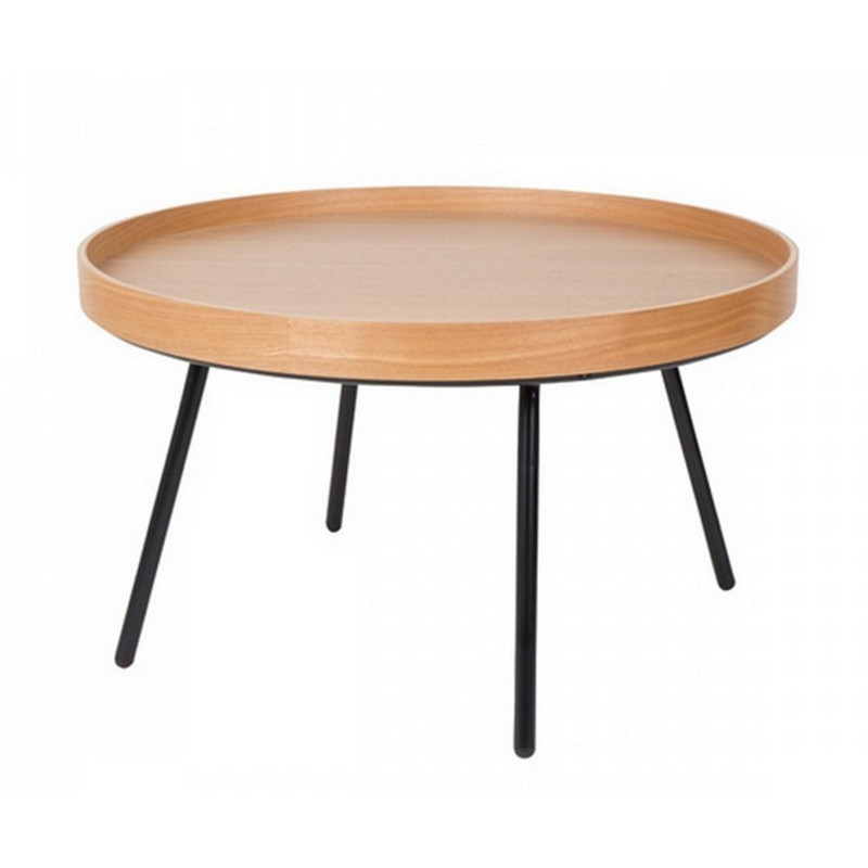Achat vente table basse ch ne avec plateau table dappoint mobilier zuiver meuble zuiver for Table zuiver