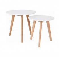 Set de 2 tables d 'appoint Scandinave Bodine, Zuiver