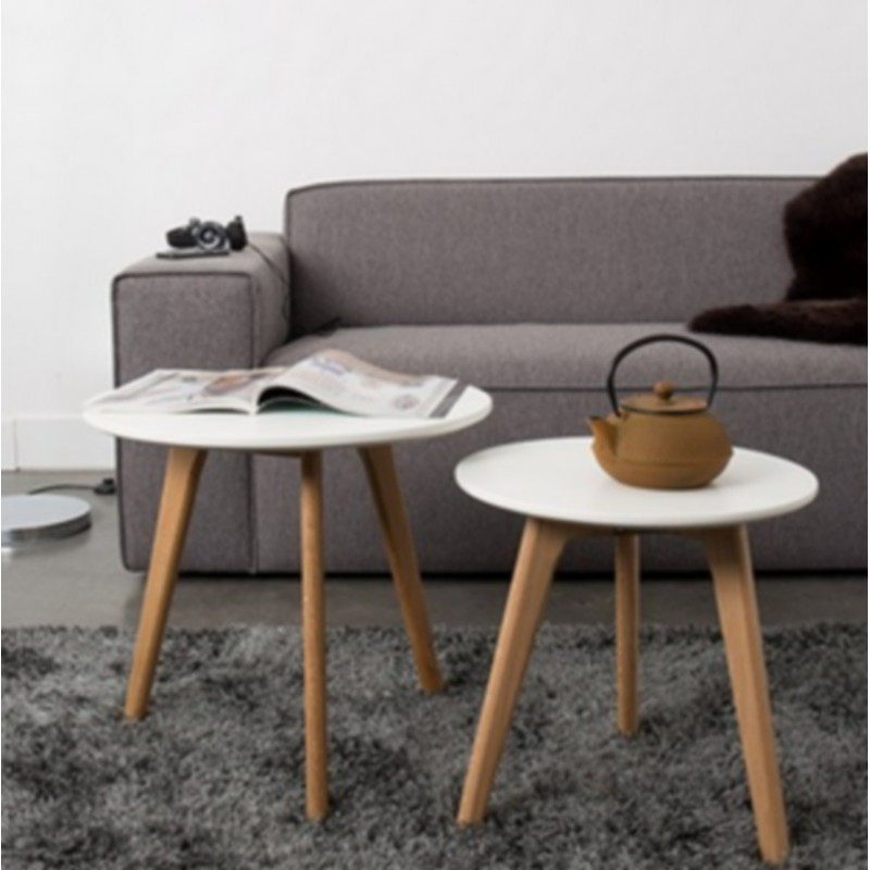 Achat Vente Table Basse Bodine Table Dappoint Mobilier Zuiver