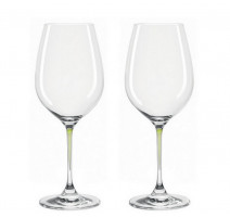 Set de 2 verres à vin Perla, Leonardo