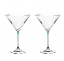 Set de 2 verres à cocktail Perla, Léonardo